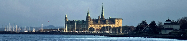 Hamlet's Castle Kronborg in Elsinore
