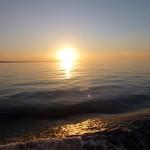 Solnedgang ved Bornholm