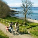 Cyclists on Bornholm