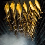 The special smoked herring on Bornholm