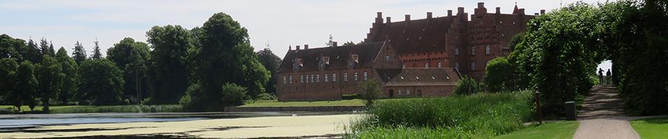 Schloss Gisselfeld in Dänemark